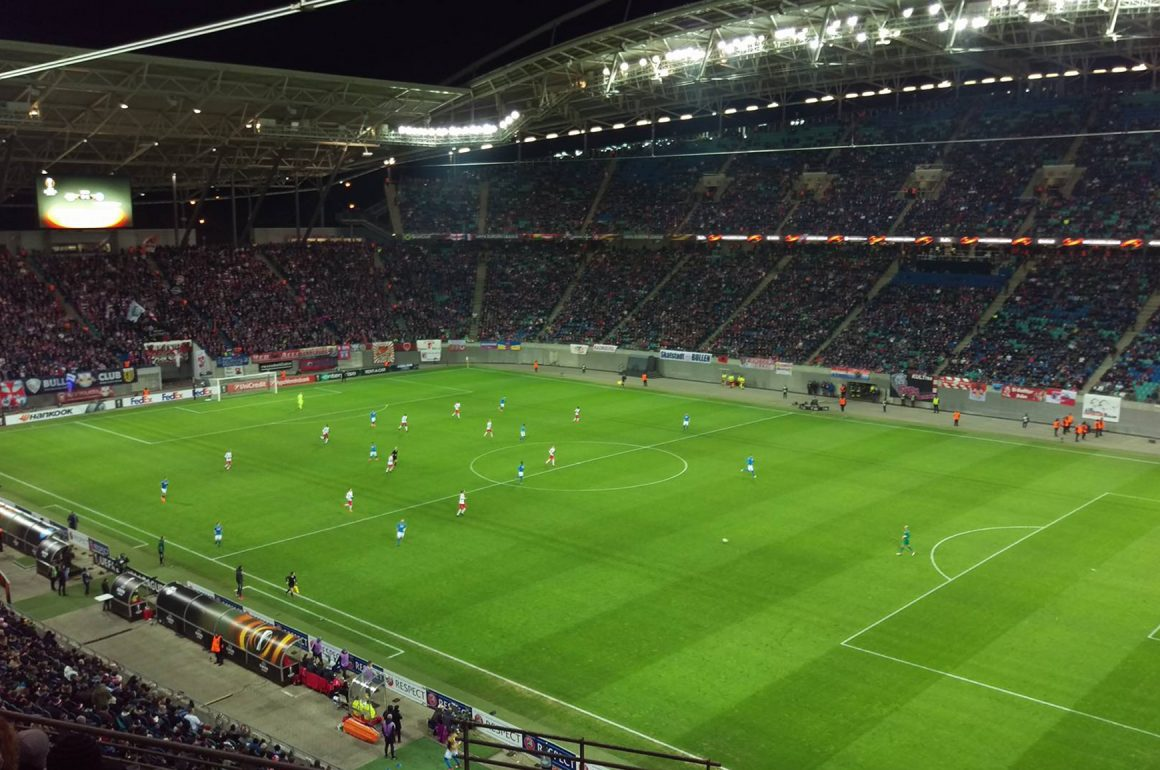 GROUNDHOPPING –  RB LEIPZIG VS. SSC NEAPEL