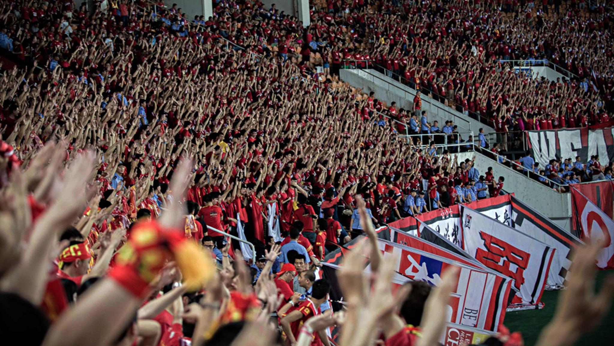 China, die neue Fußballmacht