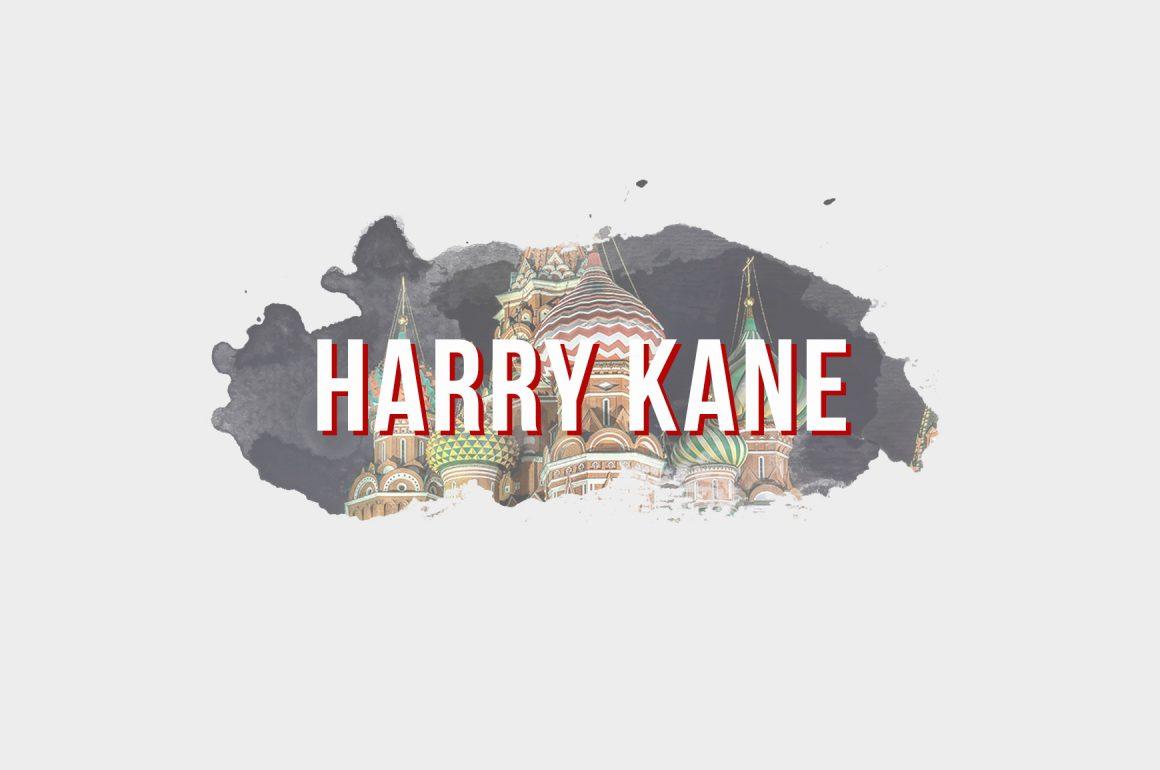 WM 2018: HARRY KANE IM PORTRÄT