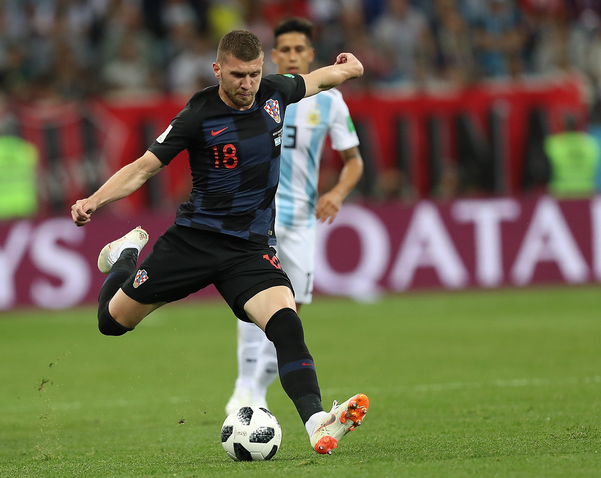 Ante Rebic im Gruppenspiel gegen Argentinien bei der WM 2018. (Foto: Антон Зайцев/Wikimedia cc-by-sa3.0)