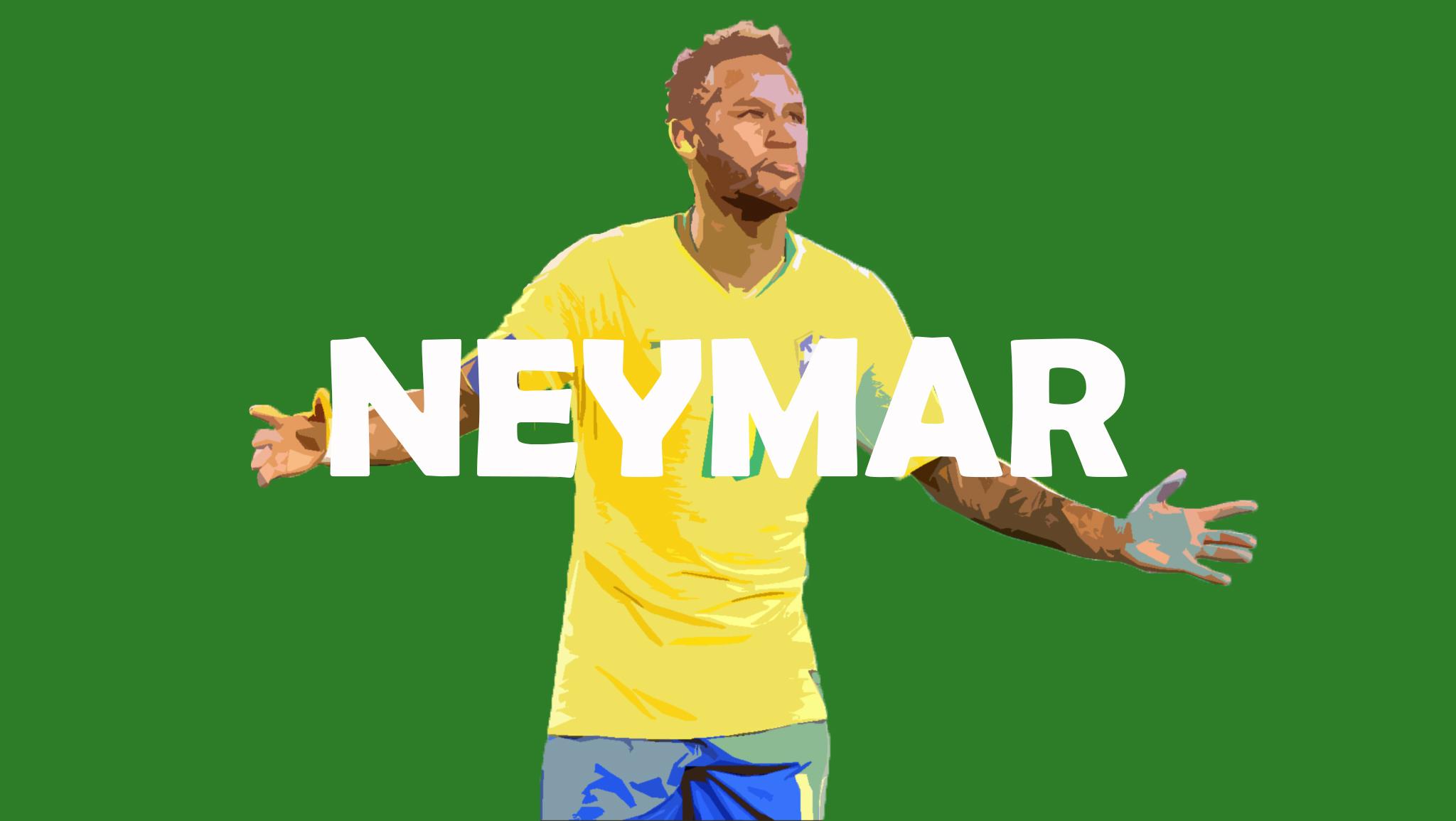 Neymar Porträt