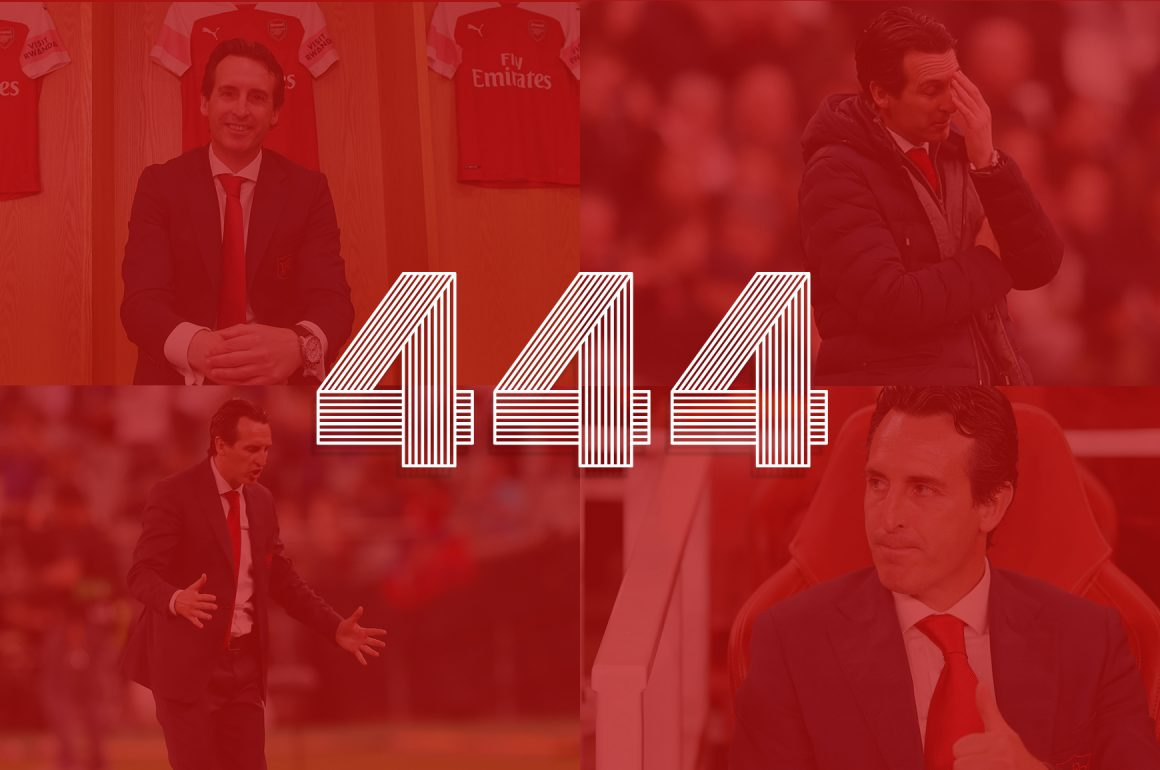 444 DAYS UNAI EMERY – A CLOSER LOOK AT ARSENAL