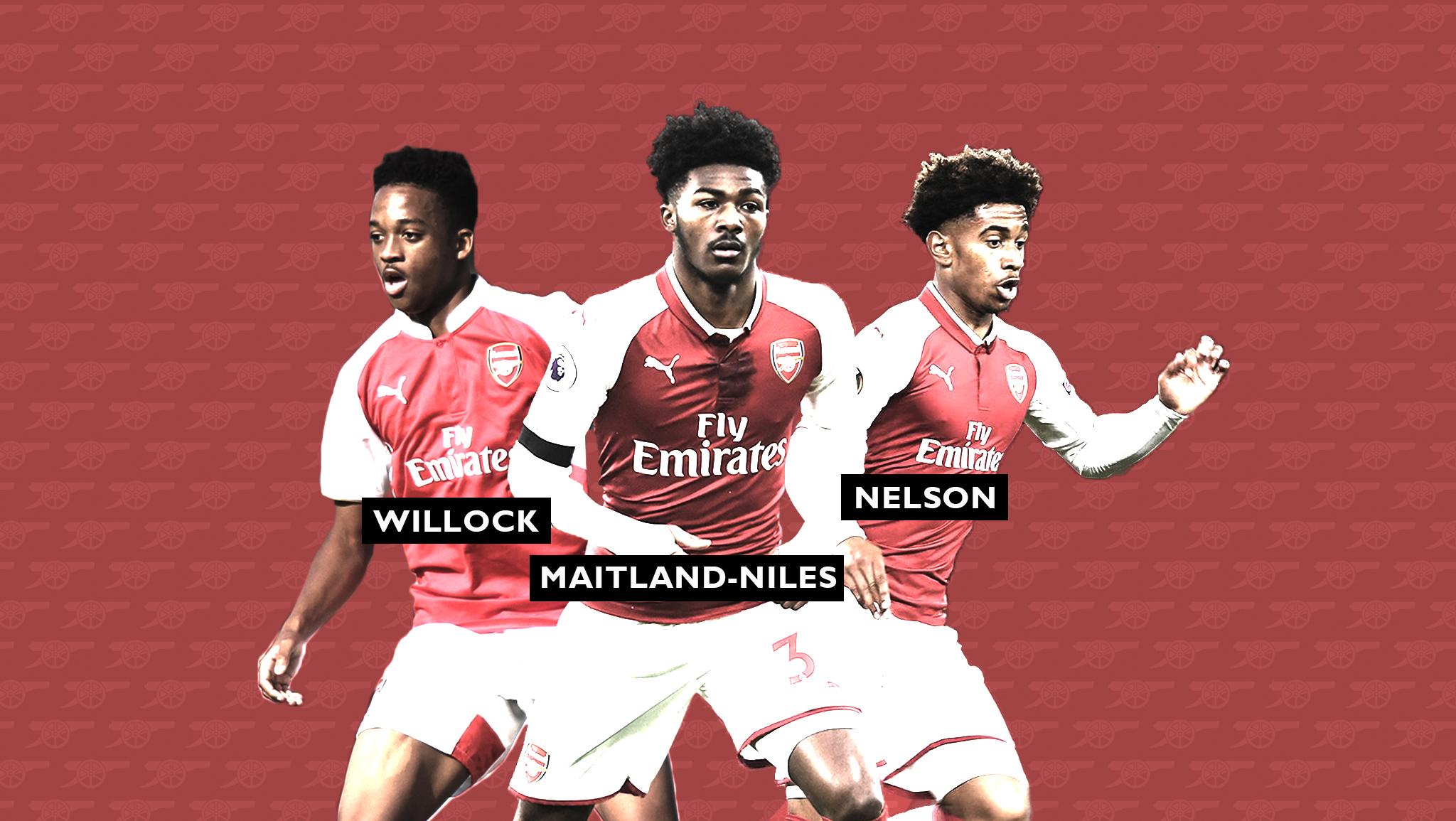 Arsenal London Talente