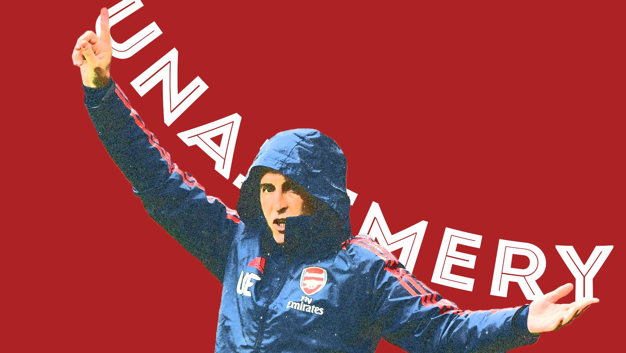 Unai Emery Arsenal London