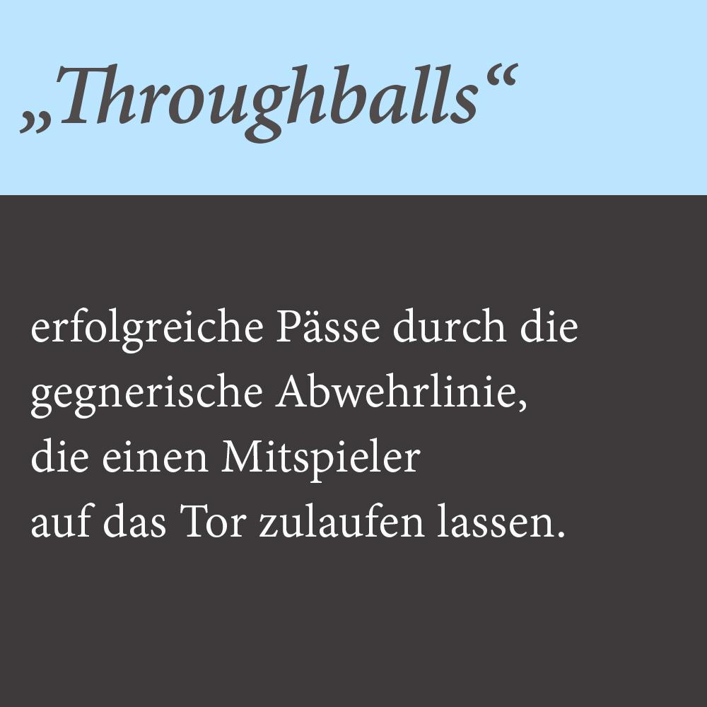 Through balls